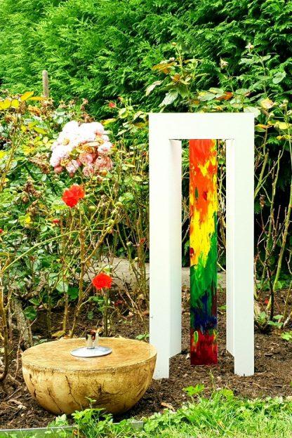 Stilvoll Gedenken The door small rainbow 500 750