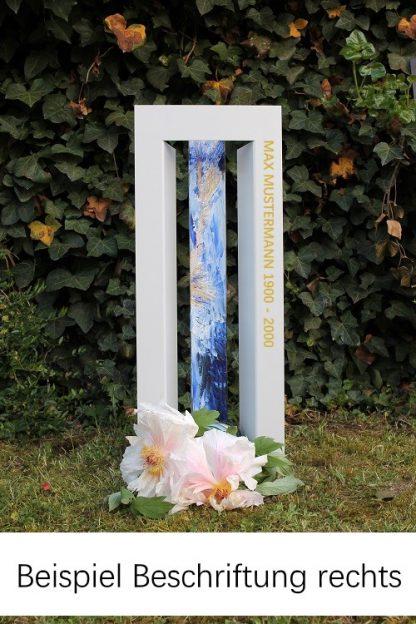 Stilvoll Gedenken The door small with label_rechts