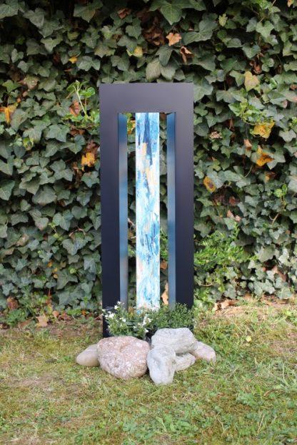 THE DOOR GRAND by Stilvoll Gedenken blue white gold